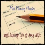 Meal planning Monday link up!
