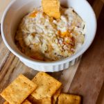 Cheesy chicken bacon ranch dip