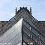 The Louvre Pyramid and grounds