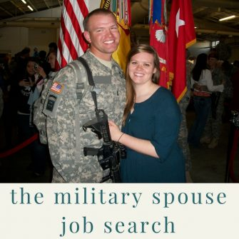 The military spouse job search