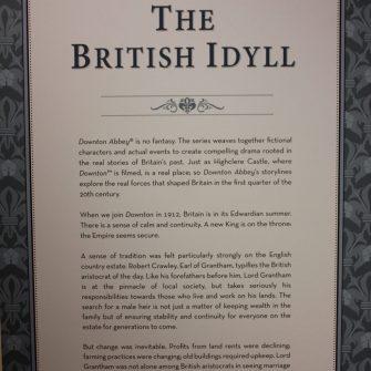 Downton Abbey costume exhibit at the Lightner Museum