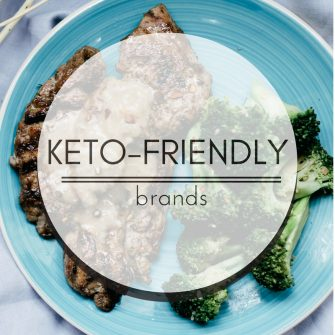 Keto-friendly brands