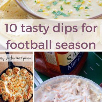 10 tasty dips for football season