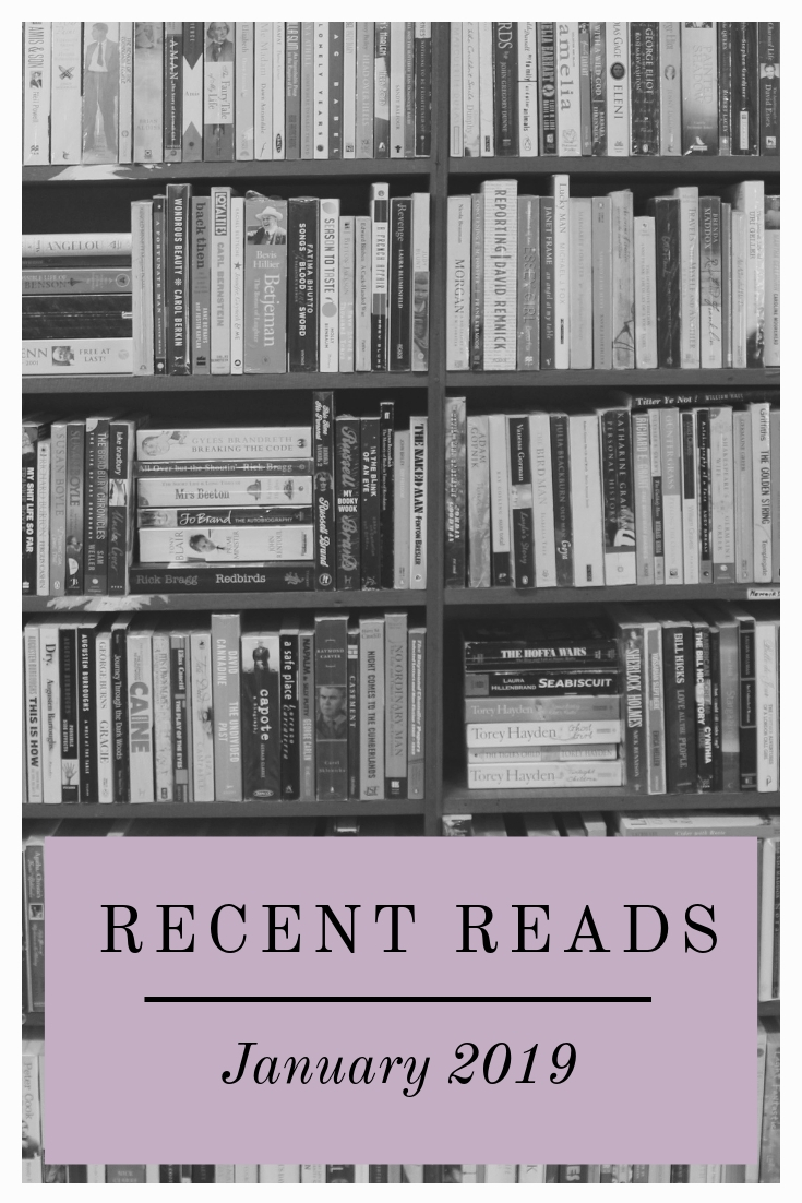 Recent Reads – January 2019